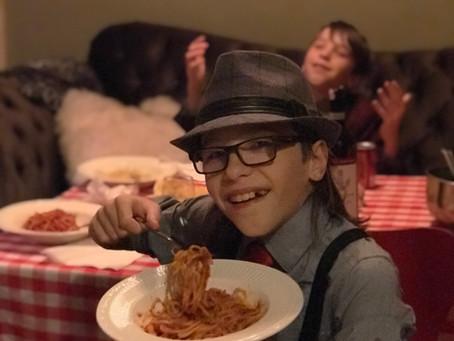 Spaghetti and Tuna, a simple slam dunk!