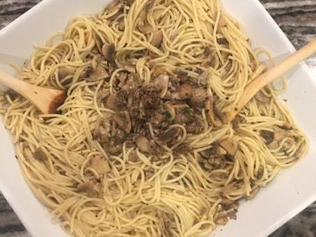 Magic Mushroom Pasta