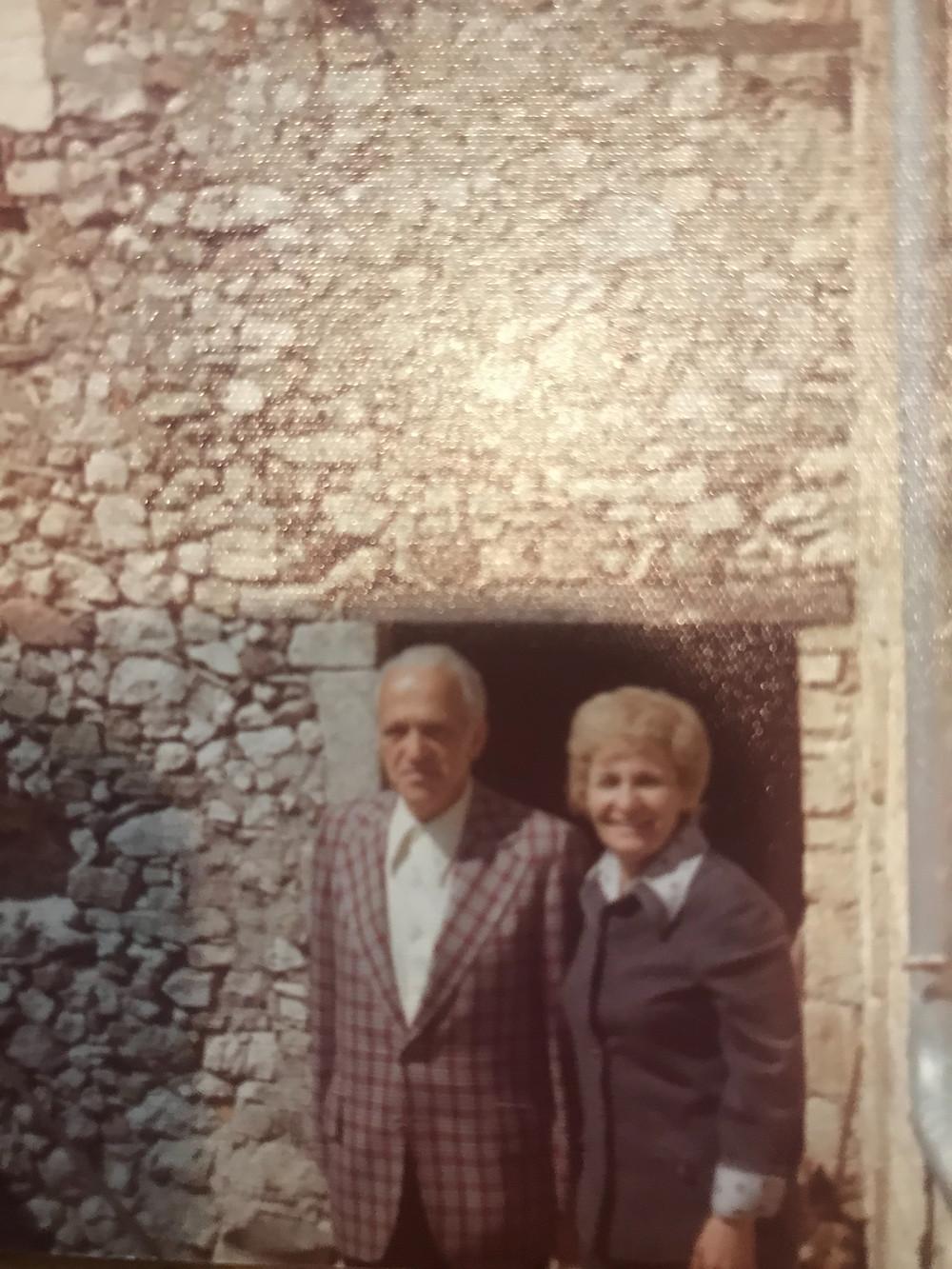My Grandmom & Grandpop in Gavelli