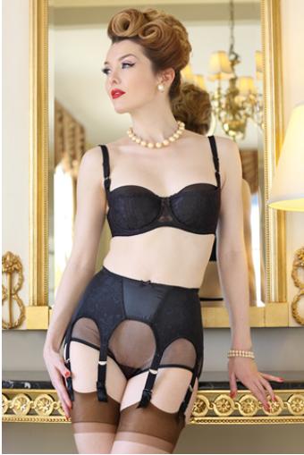 Miss Miranda sizzles in The Intrigue Garter Belt