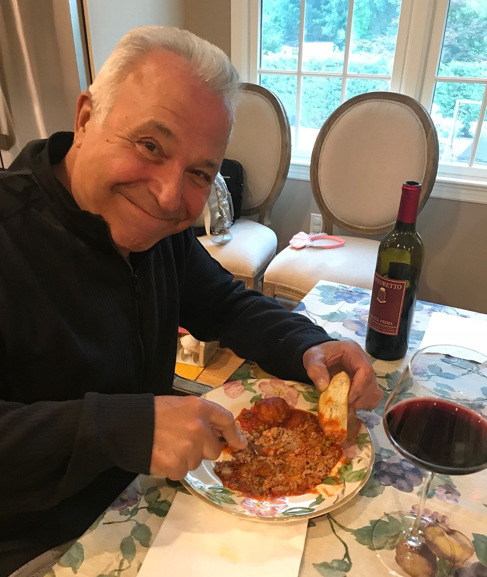 Pro Tip from my pop! Smash your meatballs!
