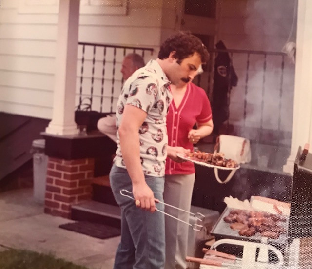 grill master,kitchen king and mustache maven
