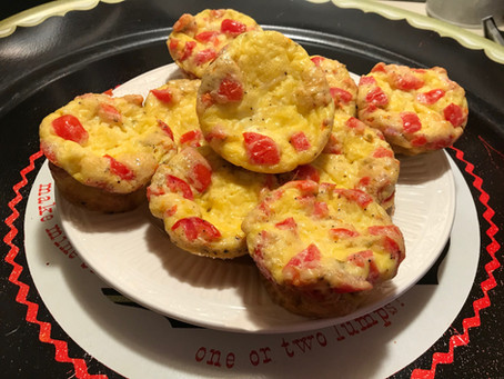 Cheesy Tomato and Egg Muffin Cups