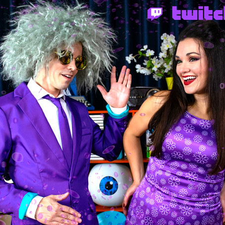 We just made Partner on Twitch!