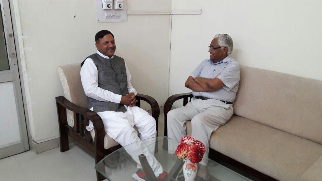 Dr. Rajiv Bindal, MLA visited HIDS Paonta Sahib