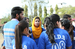 Annual sports 2016 (Girls Cricket Match) (2)