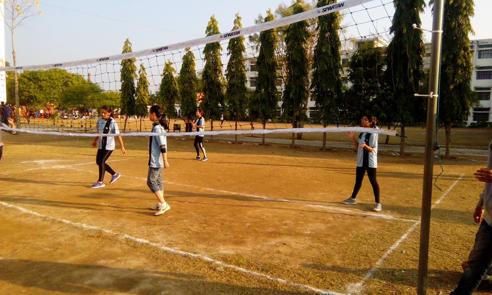 Annual sports 2016 (Girls Volleyball Match) (2)