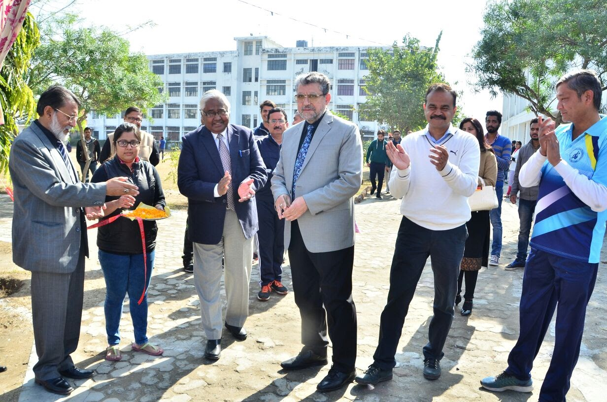 Vice Chancellor inaugrated Annual Sports Meet 1