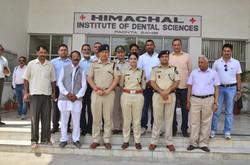 SP Sirmaur at Dental College Paonta Sahib
