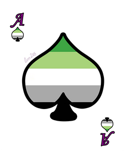 Ace Day: Aromantic Asexual