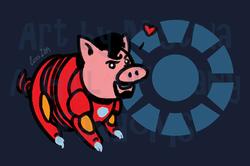 Pig Avengers: Iron Ham!