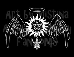 Destiel Logo (Version 2)