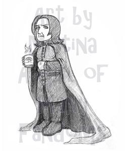 Chibi Snape (Rainbow Mug)