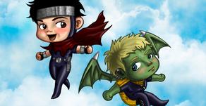 My Art: Chibi Super Boyfriends!