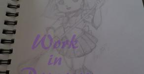 "Art W.I.P.: ""Sailor Moon"" Chibis"