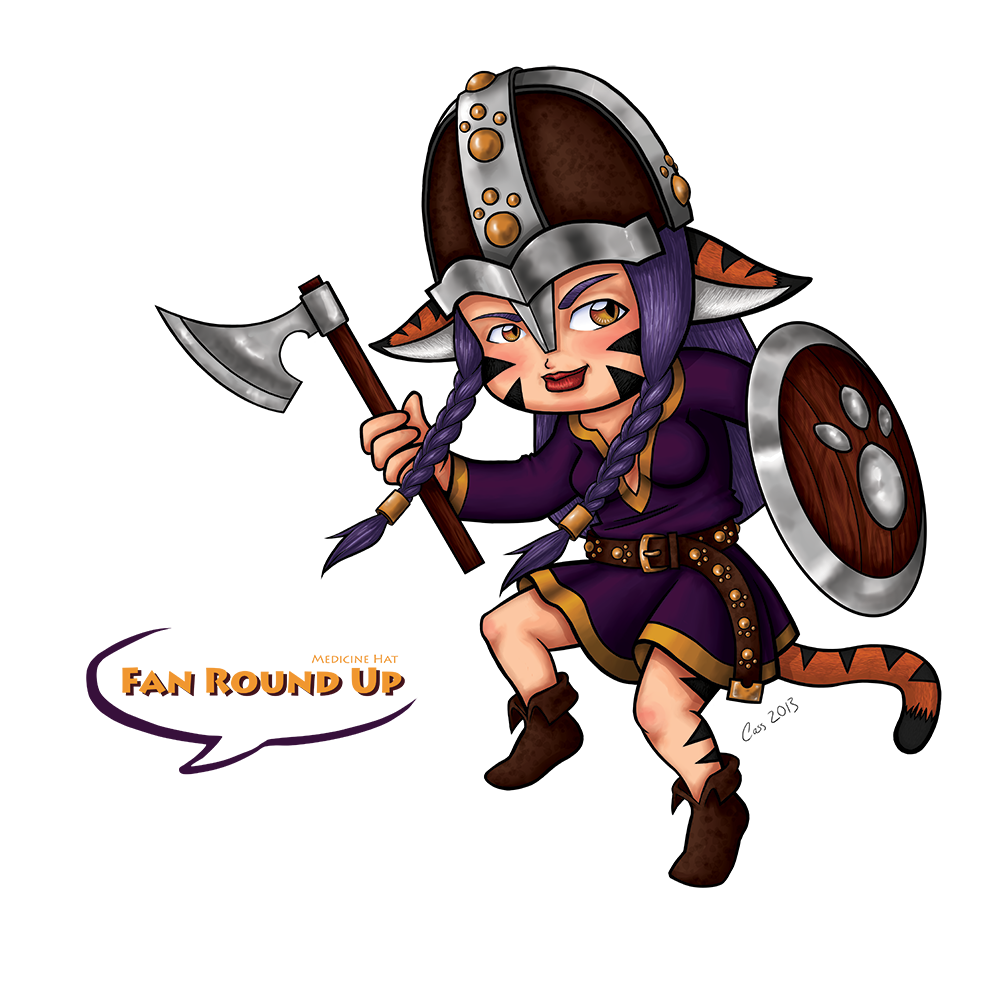2013 'Fan Round Up' Convention Mascot (Chibi Version)