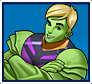"A gif set featuring, rank 05, Hulkling ( a.k.a. Teddy Altman ) from the Marvel Comics phone game ""Avengers Academy""."