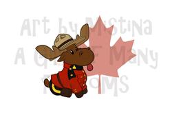 Mountie Moose: Original Leaf