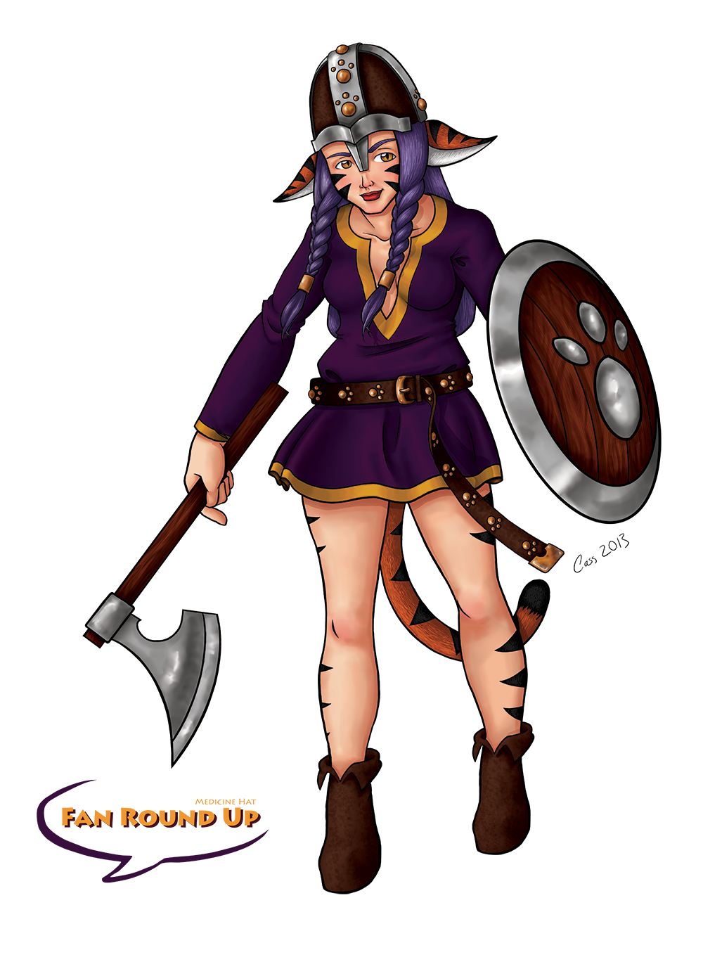 2013 'Fan Round Up' Convention Mascot