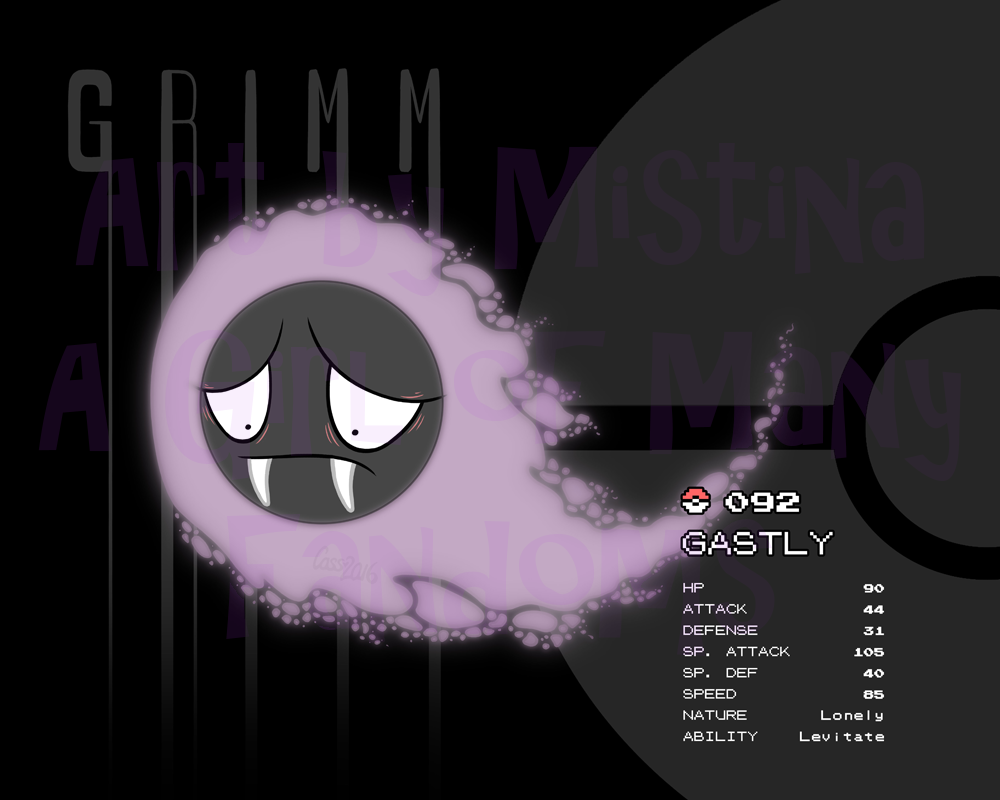 The Gastly 5: Grimm
