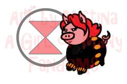 Pig Avengers: Pink Widow!