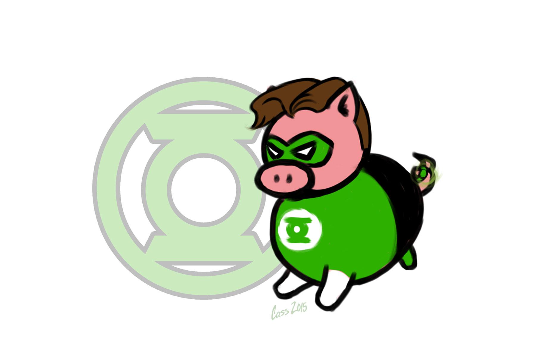 Pig Lantern