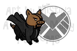 Pig Avengers: Pig Fury!