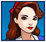 "A gif set featuring, rank 01, Agent Carter ( a.k.a. Peggy Carter ) from the Marvel Comics phone game ""Avengers Academy""."