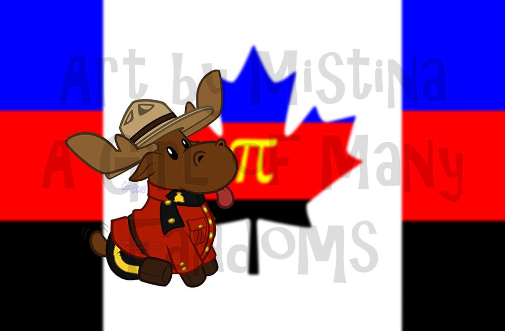Mountie Moose: PRIDE REMPRIDE REMIX!