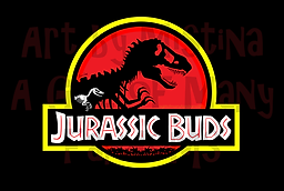"""A parody of the """"Jurassic Park"""" logo that was inspired by the latest film: """"Jurassic World"""""""