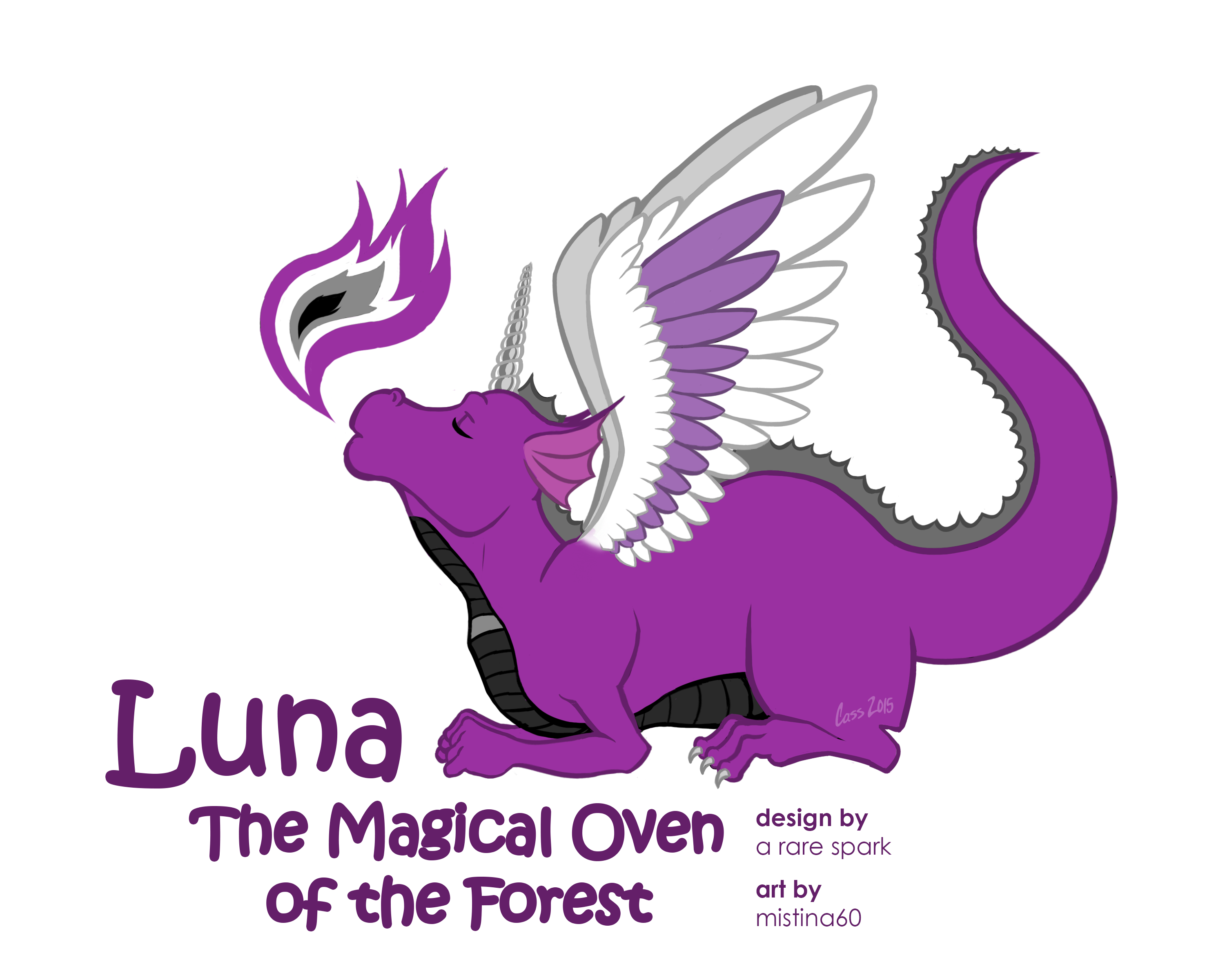 Luna the Unidragon