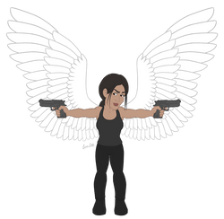 POI Chibi: Shaw (with wings)