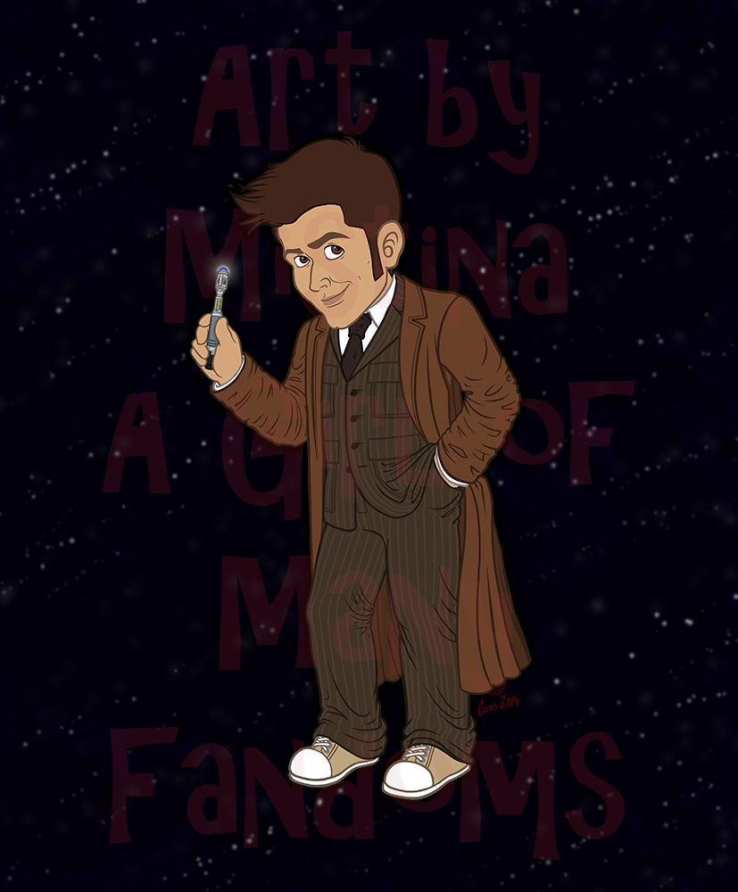 The Tenth Doctor (Brown Suit)
