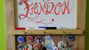 Personal Anecdote: My Room a.k.a. 'The Fortress of Fandom'!