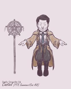 Summoner Castiel