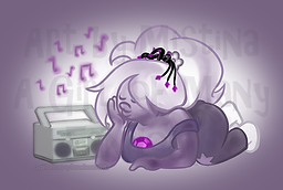 """""""Amethyst from the Cartoon Network's hit show""""Steven Universe"""" by A Girl of Many Fandoms"""