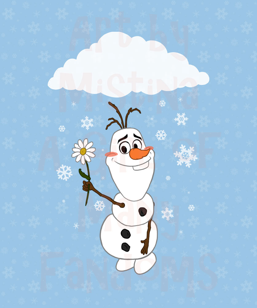 For You?RMARKED-Olaf_Snowflakes-WEB