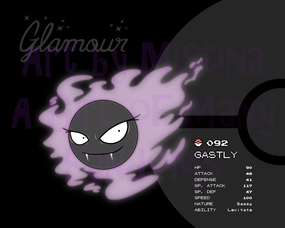 The Gastly 5: Glamour