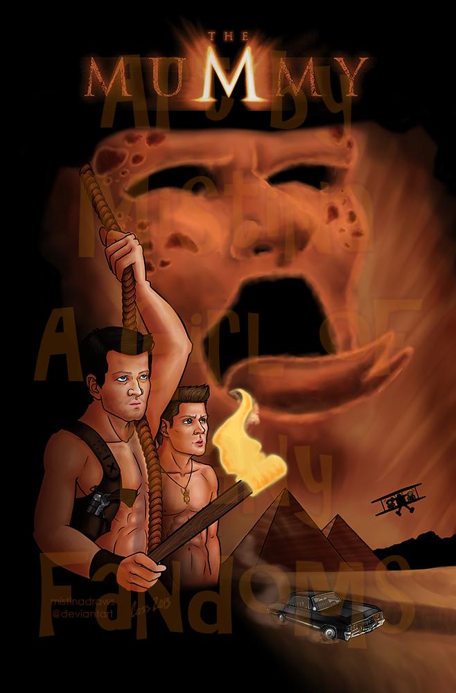 The Mummy: An Supernatural AU (Bonus)