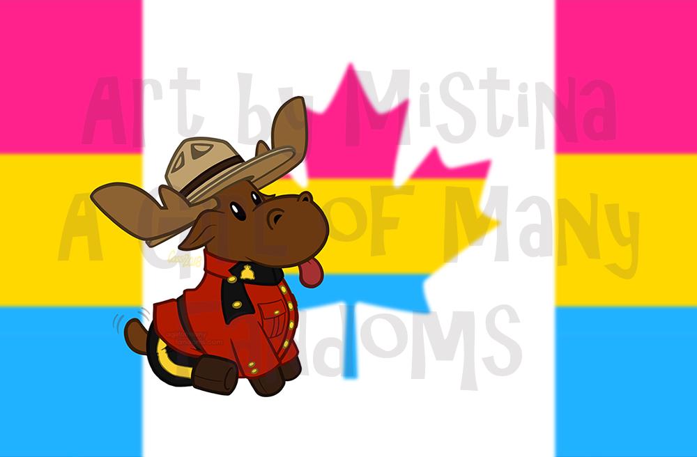 Mountie Moose: PRIDE REMIX!