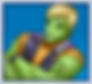 """A gif set featuring, rank 03, Hulkling ( a.k.a. Teddy Altman ) from the Marvel Comics phone game """"Avengers Academy""""."""