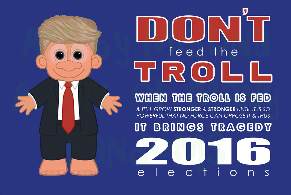 Don't Feed The Troll (New Text)