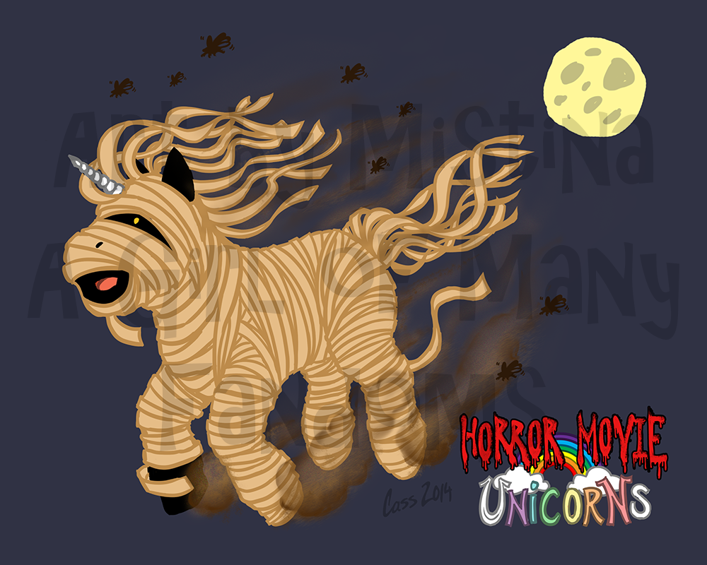 Horror Movie Unicorns
