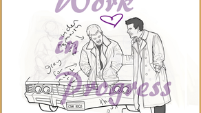 Art W.I.P.: 'Let's Draw SPN' 02