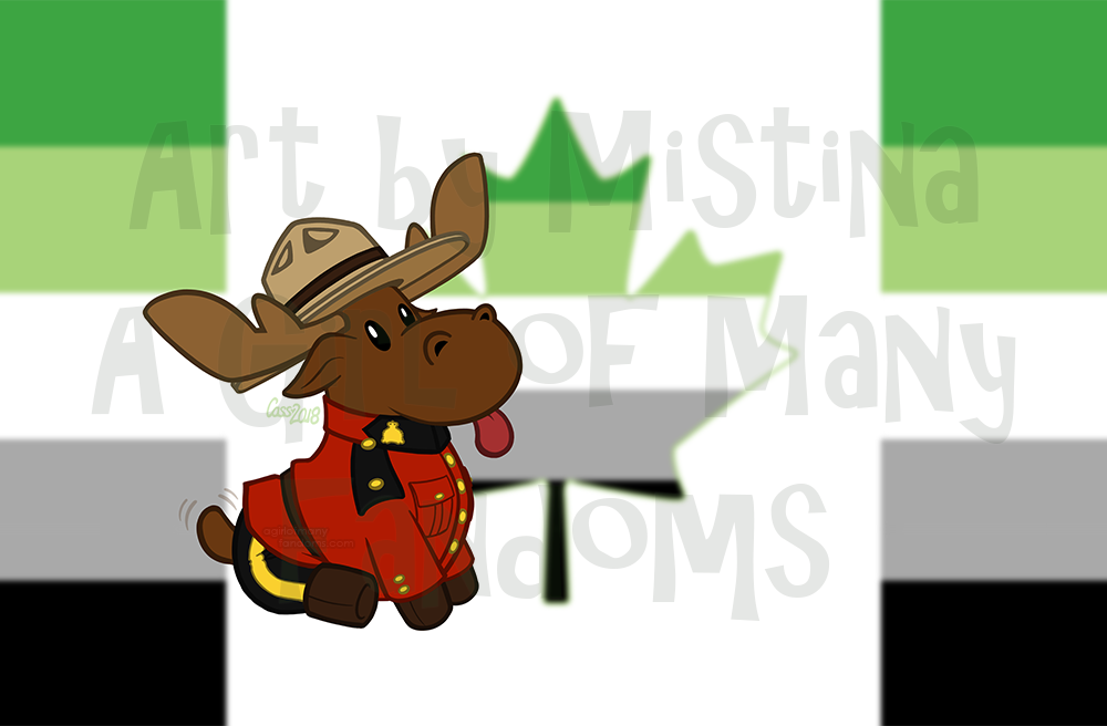 Mountie Moose: PRIDE REMIX!