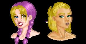 My Art: Original Characters, Aurélie and Taylor