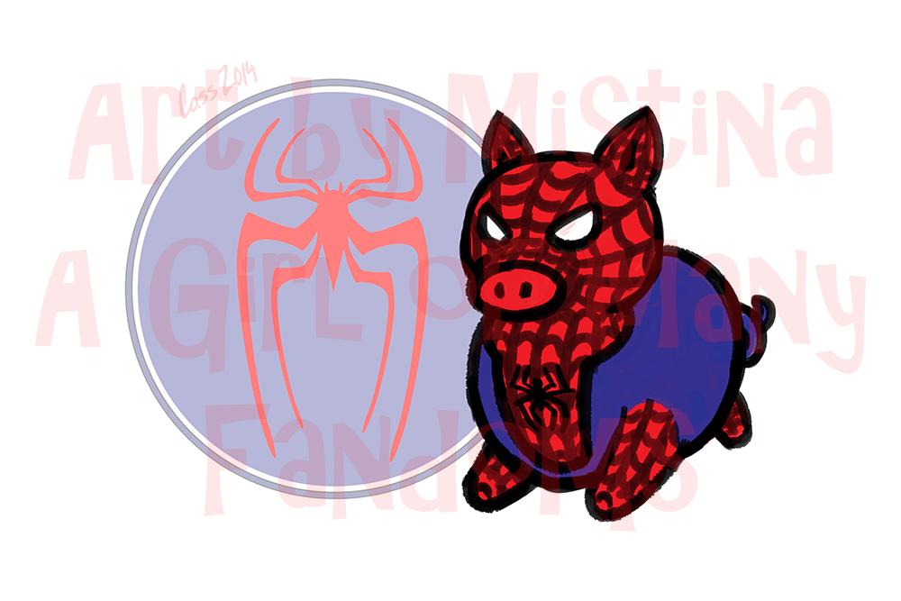 Pig Avengers: Spider Pig!