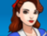 "A gif set featuring Agent Carter ( a.k.a. Peggy Carter ) from the Marvel Comics phone game ""Avengers Academy""."