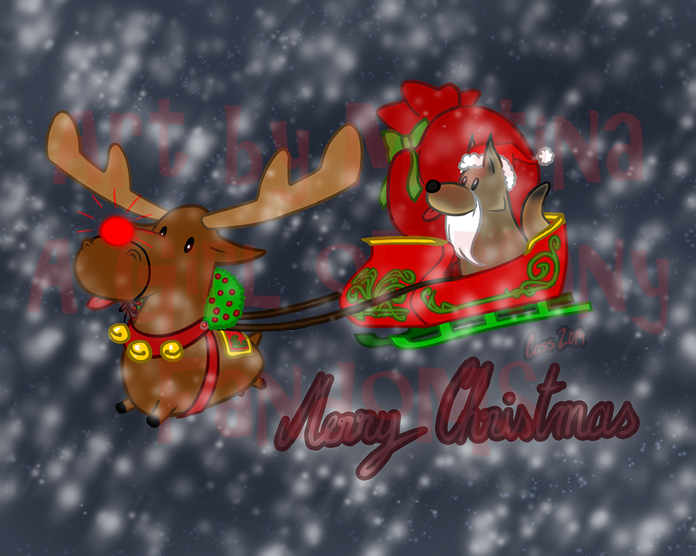 Moose and Trickster Christmas
