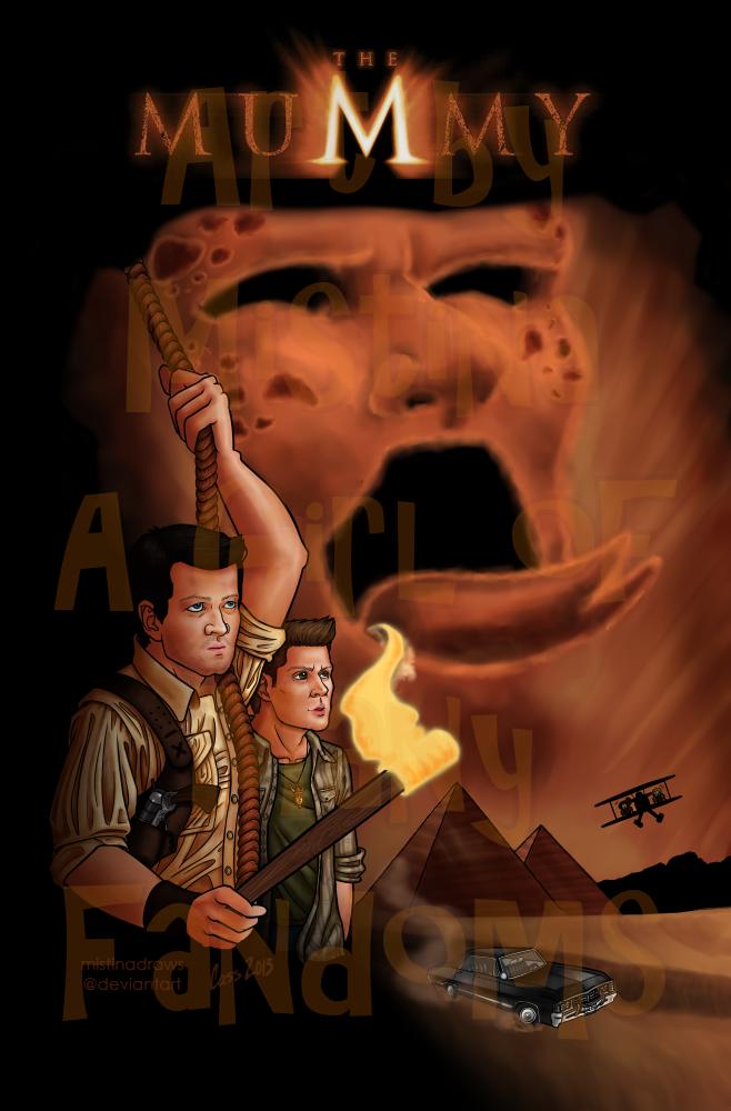 The Mummy: An Supernatural AU